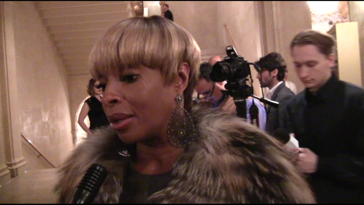 Mary J. Blige at the 59th Annual Winter Ball